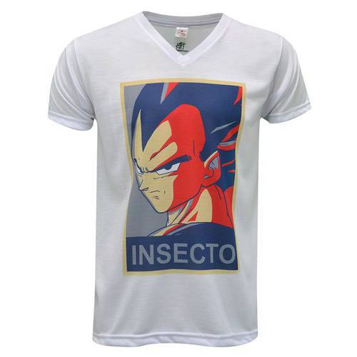 Camiseta Cuello V Dbz 8 0142 - ART GENERATION