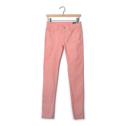 Pantalón Color Siete Para Mujer  - Rosado