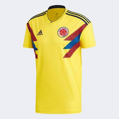 Camiseta Fcf H Jsy Byello/Conavy Amarillo Cw1526 Amarillo - Adidas 1526 - adidas