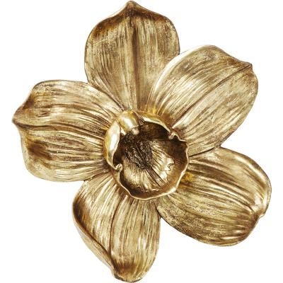 Decoración pared Orchid oro 44cm