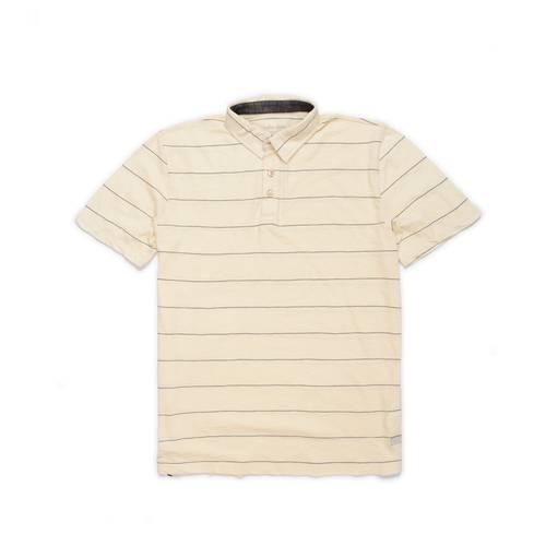 Polo Color Siete Para Hombre - Beige