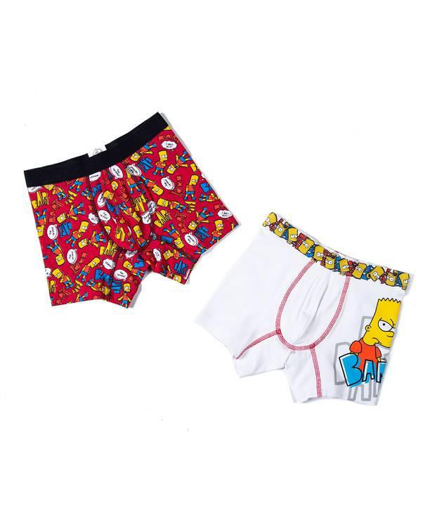 Boxer X2 Niño Los Simpsons