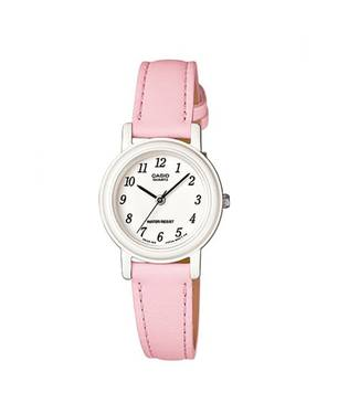 Reloj análogo blanco-rosa -4B1