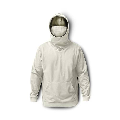 Hoodie Proteccion Con Pasamontañas para Hombre - Crema
