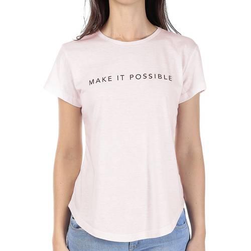 Camiseta Rose Pistol Para Mujer - Rosado