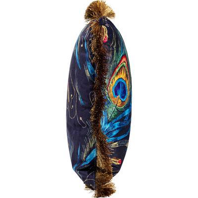 Cojín Peacock Feather azul 40x60