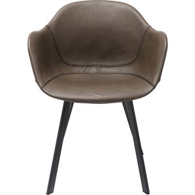 Silla reposabrazos Lounge gris