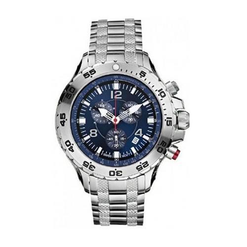 Reloj nst Azul - Plateado