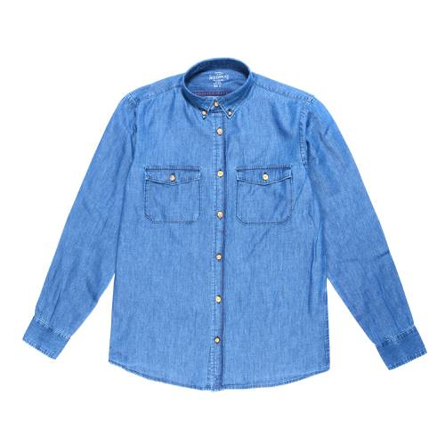 Camisa Manga Larga Kensal Jack Supplies Para Hombre - Azul