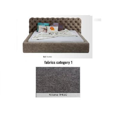Cama Slumber, tela 1 - Kitana 9410,  (82x228x239cms), 180x200cm (no incluye colchón)