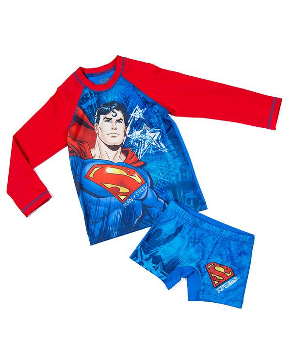 Conjunto Baño Niño Superman