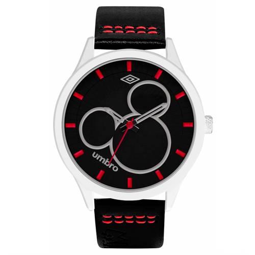 Reloj Análogo Plateado-Negro Umb-Mm02-5