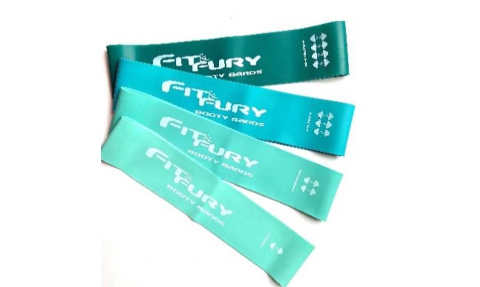 Set de 4 bandas Aqua FIT & FURY