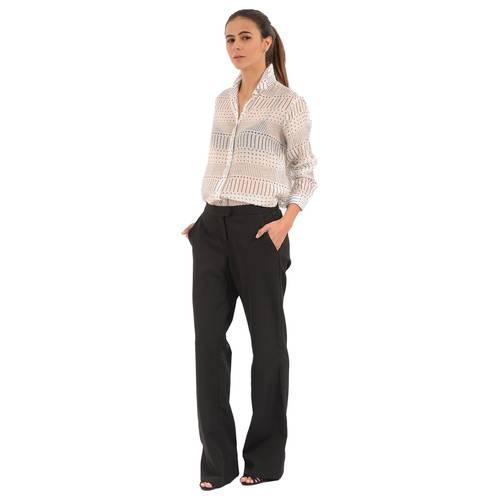 Pantalón Albertina Color Siete Para Mujer  - Negro