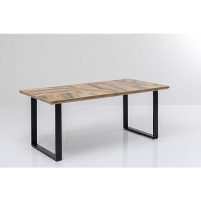 Mesa Abstract negro 180x90