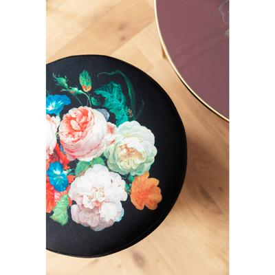 Taburete Cherry Blossom latón Ø35cm
