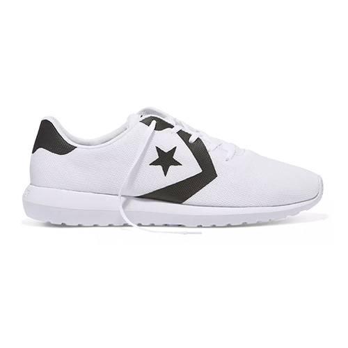 Zapatos White - Black - White