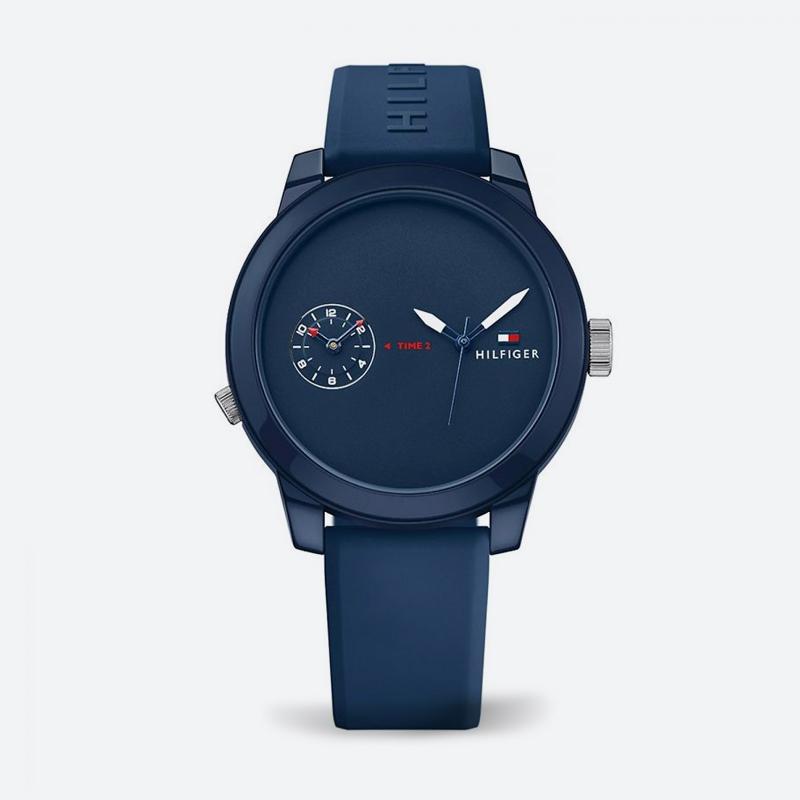 Reloj análogo azul-azul 1325