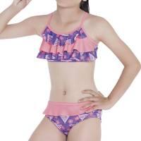 Traje De Baño Bikini De Niña Moradoest -Mor - FI SWIMWEAR