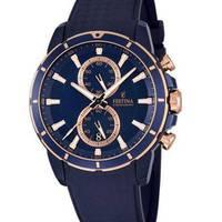 Reloj analógico azul-azul 51-1
