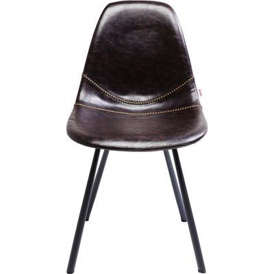 Silla Lounge marrón
