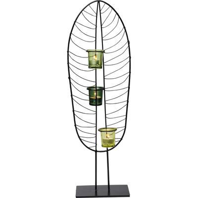 Portavelas Leaf Wire 67cm