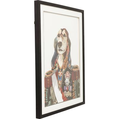 Cuadro Art General Dog 90x72cm