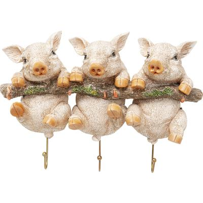 Perchero pared Three Mini Pigs