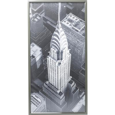 Cuadro Chrysler Building View 166x86 cm
