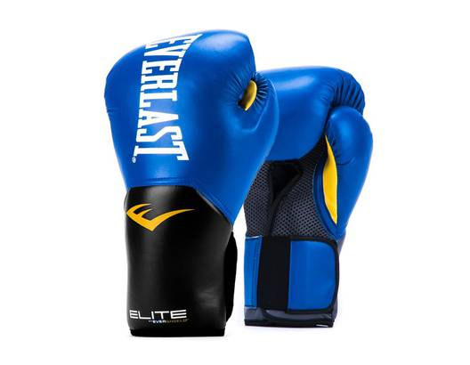 GUANTE DE BOX ELITE 16oz BL EVERLAST