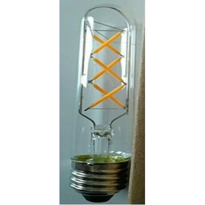Bombillos de filamento LED transparente forma T30 - Rosca E27 - Luz Cálida - Dimerizable