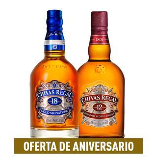 Chivas 18años+Chivas 12años