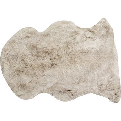 Piel cordero Heidi gris 85x60cm