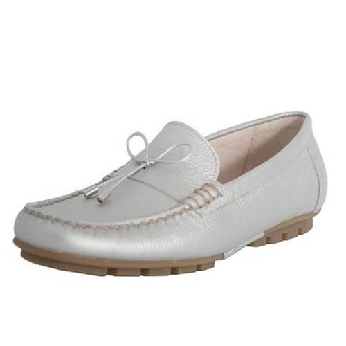 Zapato Tudor Plata