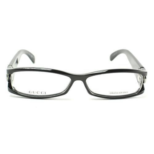Gafas Oftálmicas -N-D28 Negro Brillante - Gucci