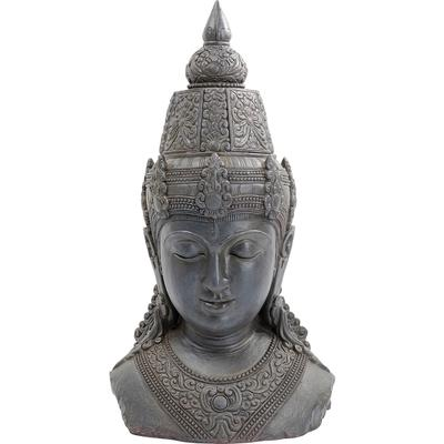 Objeto decorativo Asia gris 107cm