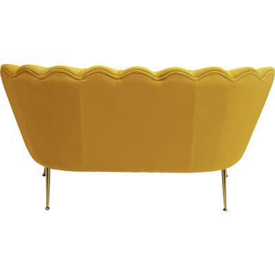 Sofa Water Lily 2 pl amarillo 132cm