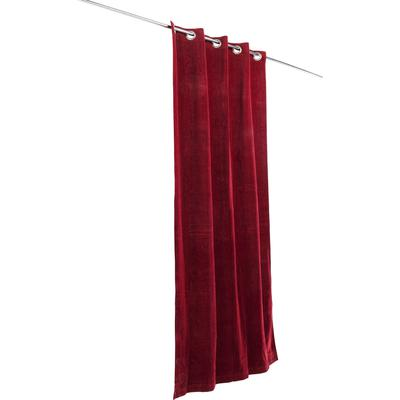 Cortinas Royal rojo