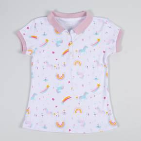 Camiseta tipo polo manga Corta Kid Girl