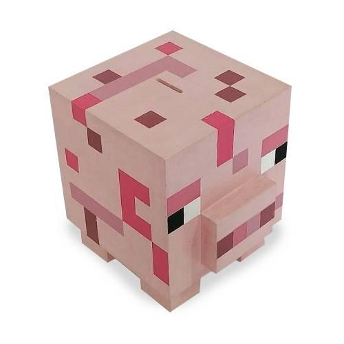 Alcancía Mediana Minecraft Cerdo