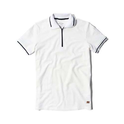 Active Polo Color Siete Para Hombre - Blanco