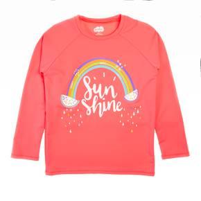 Camiseta playa para niña
