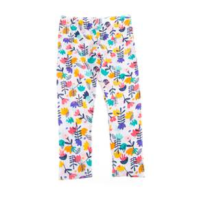 Leggings de flores