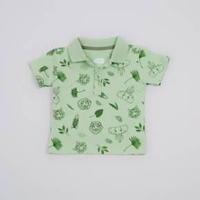 Camiseta tipo polo manga Corta Baby Boy
