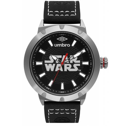 Reloj Plateado/Negro - Umb-Sw01-3