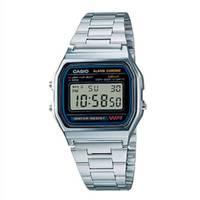 Reloj digital gris-plateado A-1D