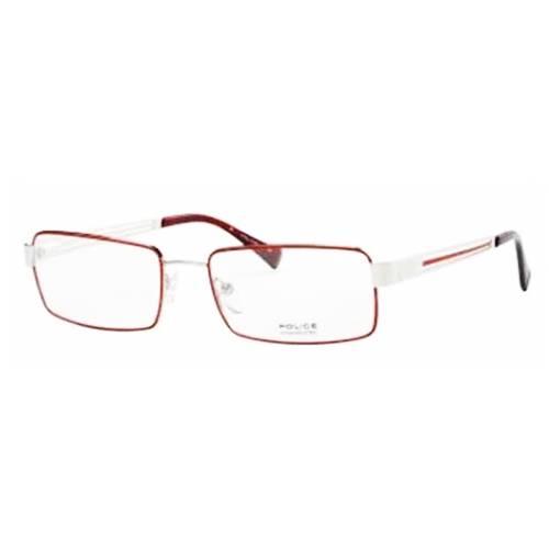 Gafas Oftálmicas Rojo-Transparente 8613-N54