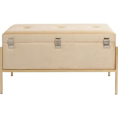Banco Buttons Storage beige peq