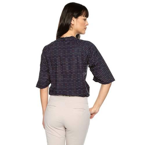Blusa Stella Color Siete Para Mujer - Azul
