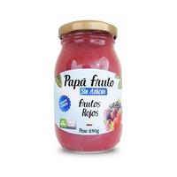 Confitura Papá Fruto Sin Azúcar Frutos Rojos  230 GR